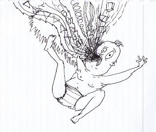 sean drawings: crying baby
