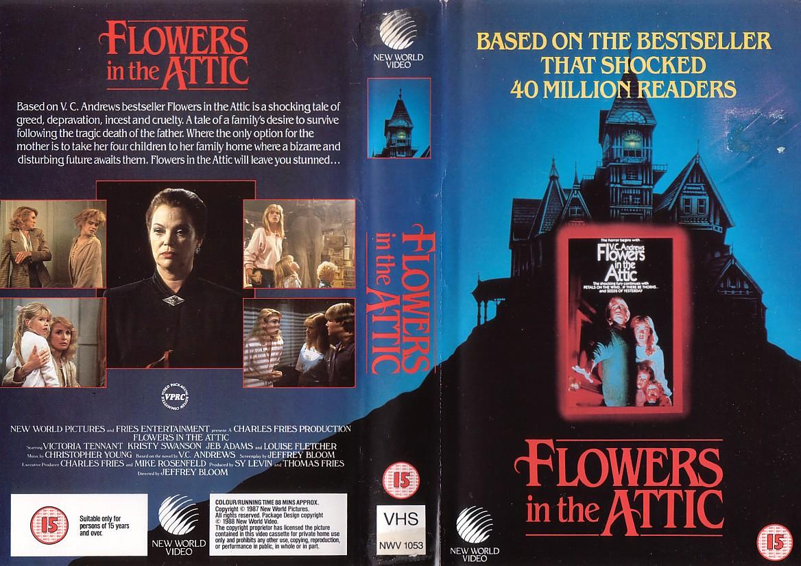 todo el terror del mundo  flores en el atico  flowers in