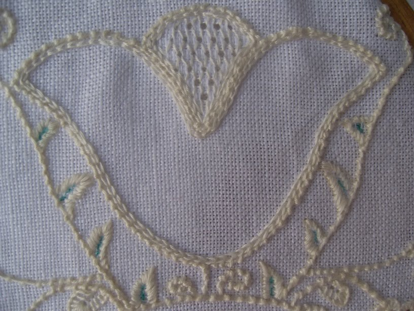 Pulled Thread Stitches Schwalm Embroidery