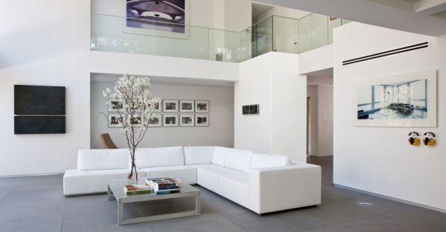 Casas minimalistas y modernas pinturas para interiores for Pinturas casas modernas interiores
