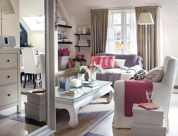 dekolor un saloncito coqueto. Black Bedroom Furniture Sets. Home Design Ideas