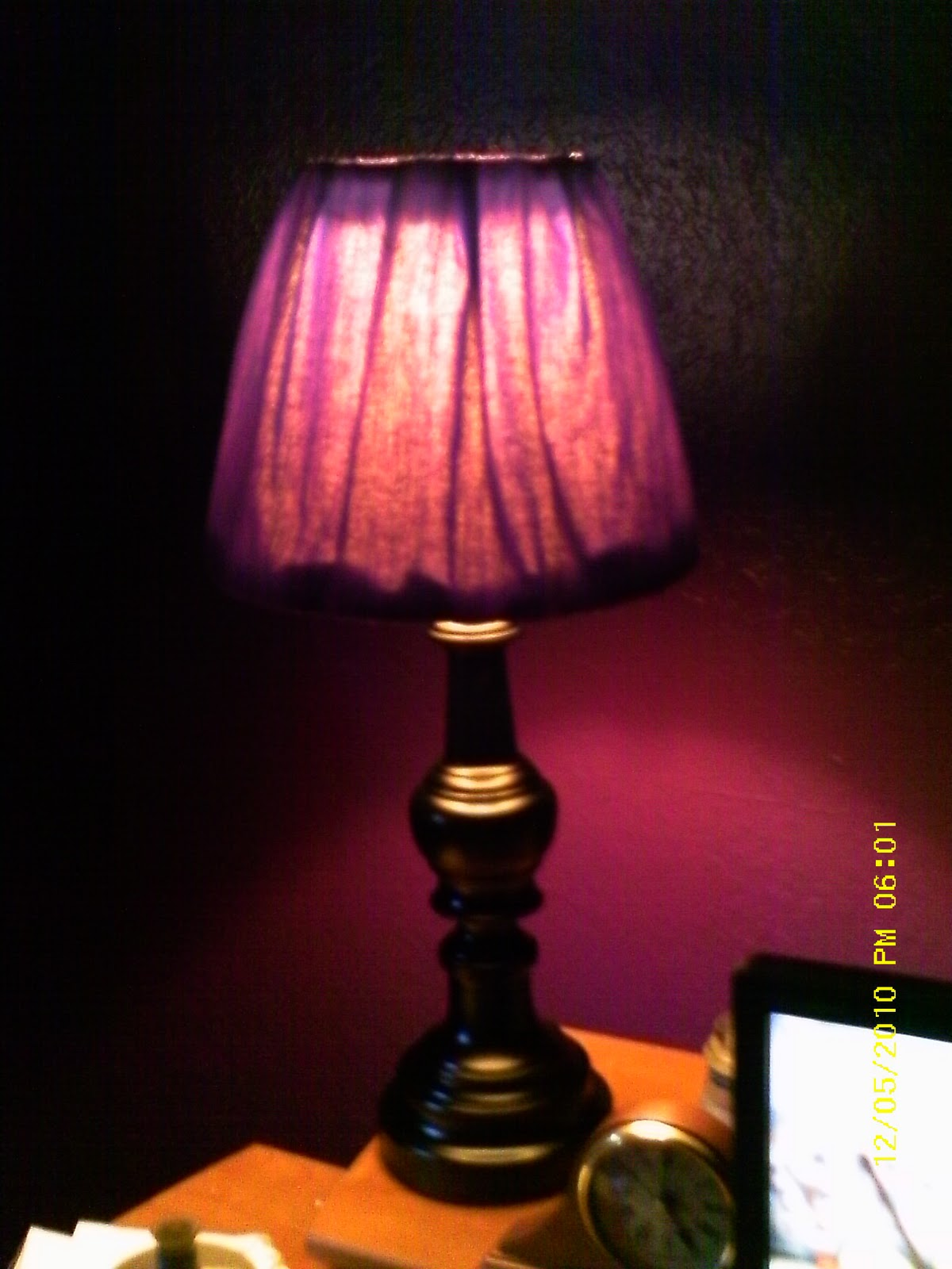 Wiccan Make Some Too Office Lamp Redo