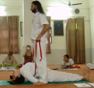 yoga assists and modifications matsyasana