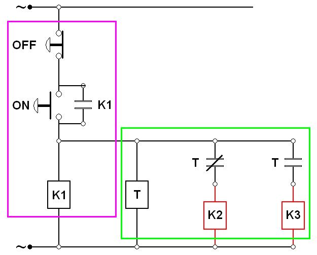 wiring diagram plc 1995 dodge ram 1500 transmission star delta bintang segitiga gambar penjelasan