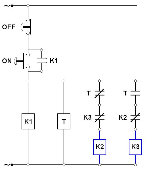 wiring diagram panel pompa