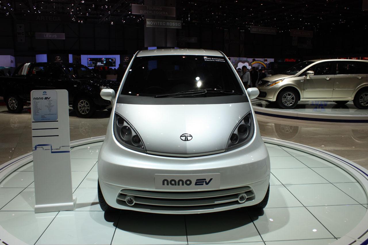 Best Car Modification: Tata Nano EV Wallpapers