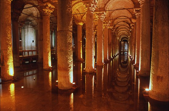 Undisclosed Travel Guide to Turkey.: Basilica Cistern or ...