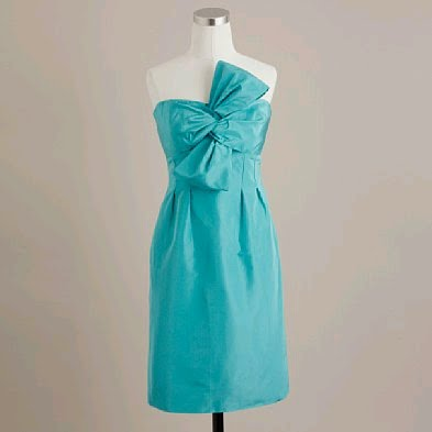 c5e92849a346 I love this J.Crew silk taffeta bow monde dress, but I am not sure if the  color (which I ADORE) is appropriate for an evening reception? What do you  think?