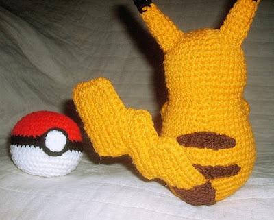 Amigurumi Patterns Pikachu : Wolfdreamer: pikachu plushie pattern