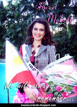With Love To: Melody Gersbach - Miss Philippines International 2009