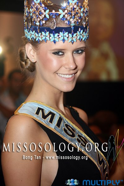 MISS WORLD: Alexandria Mills attended Variety World