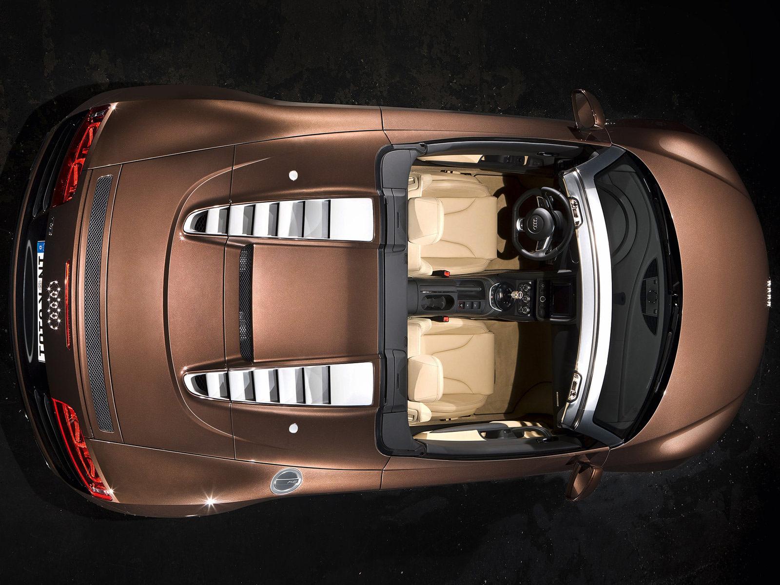 Modified And Custom Cars Audi R8 Spyder 5 2 Fsi Quattro 2011