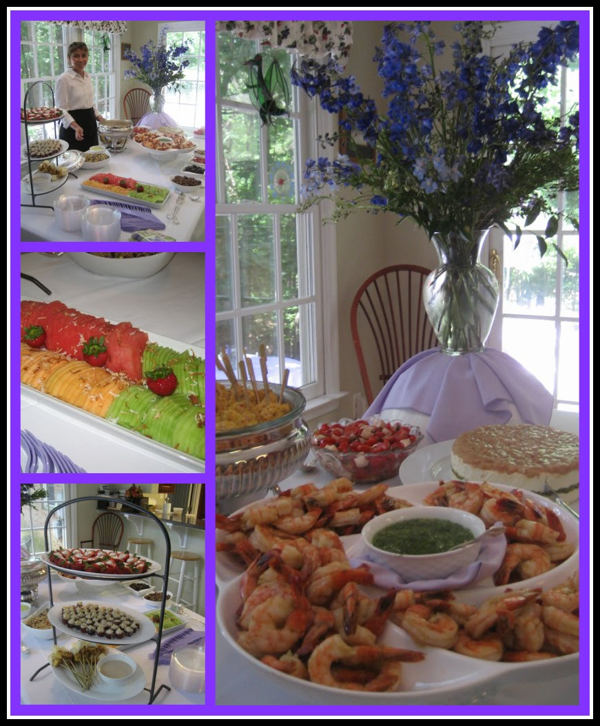 Wedding Reception Buffet Food Ideas: Posh In A Pinch: {Event Showcase} Post-Wedding Reception