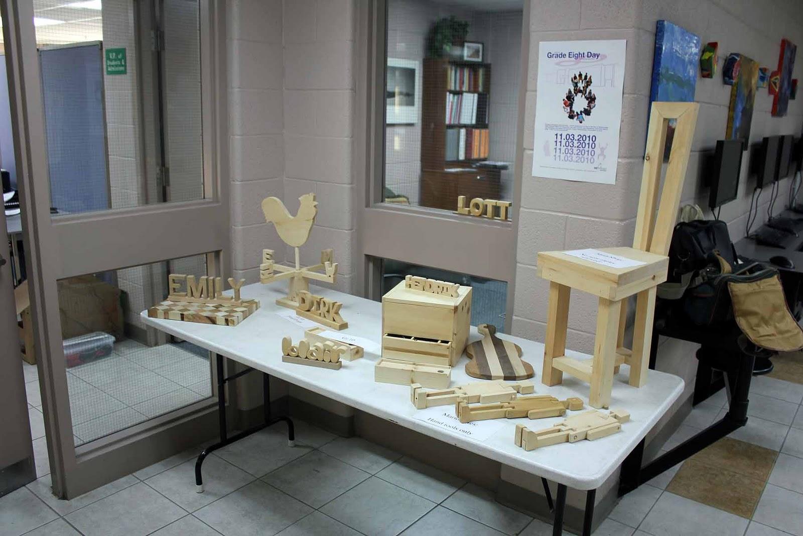 Juneau-Douglas High School Woodworking