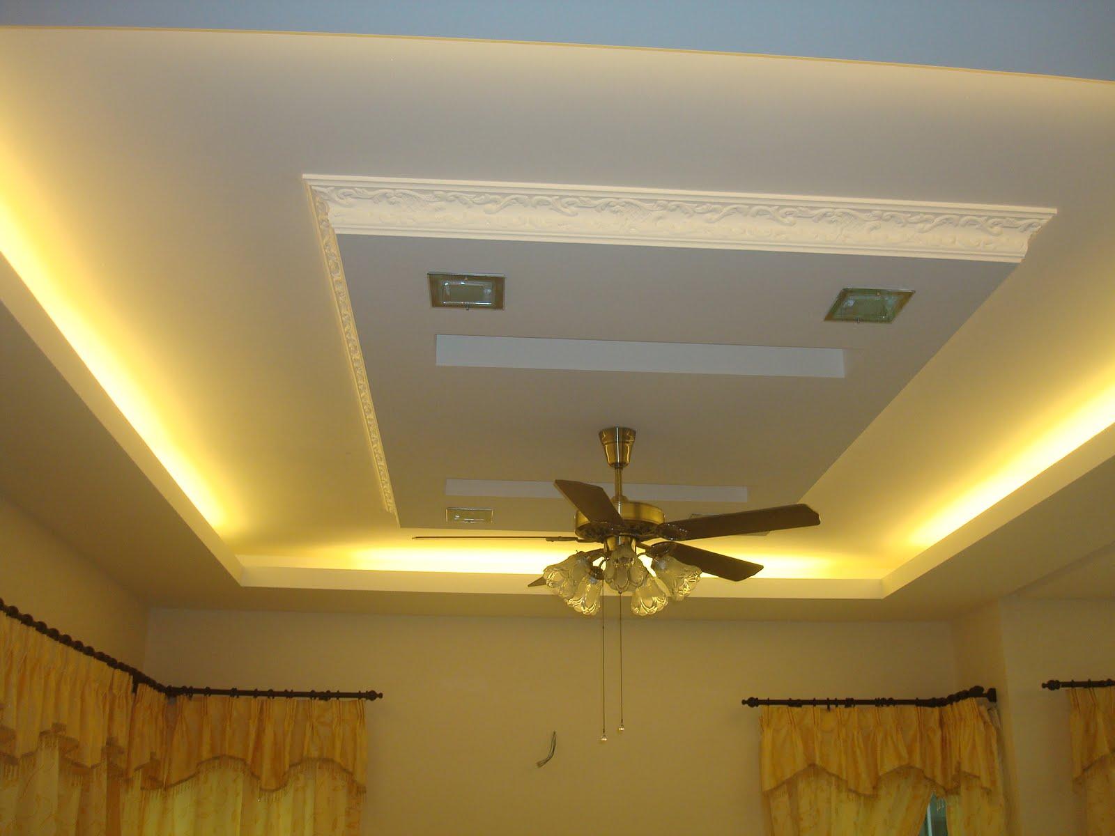 Hana Design  Construction Plaster Ceiling