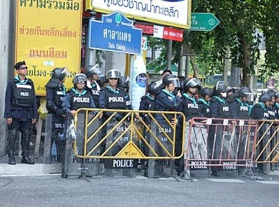 Bangkok #3 — Silom Road demo