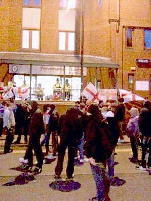 EDL: Wolverhampton demo