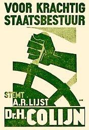 Hendrikus Colijn campaign poster