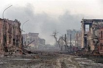 Grozny turned to rubble