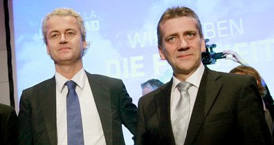 Dec. 2010: Geert Wilders and René Stadtkewitz