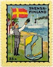 Svensk-Finland stamp
