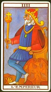el emperador tarot marsella