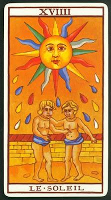 tarot el sol invertida