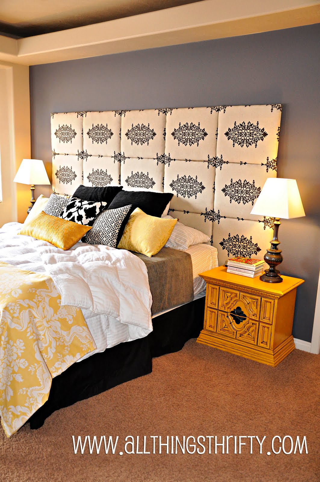 Make Your Own Headboard For Less Than 80 00