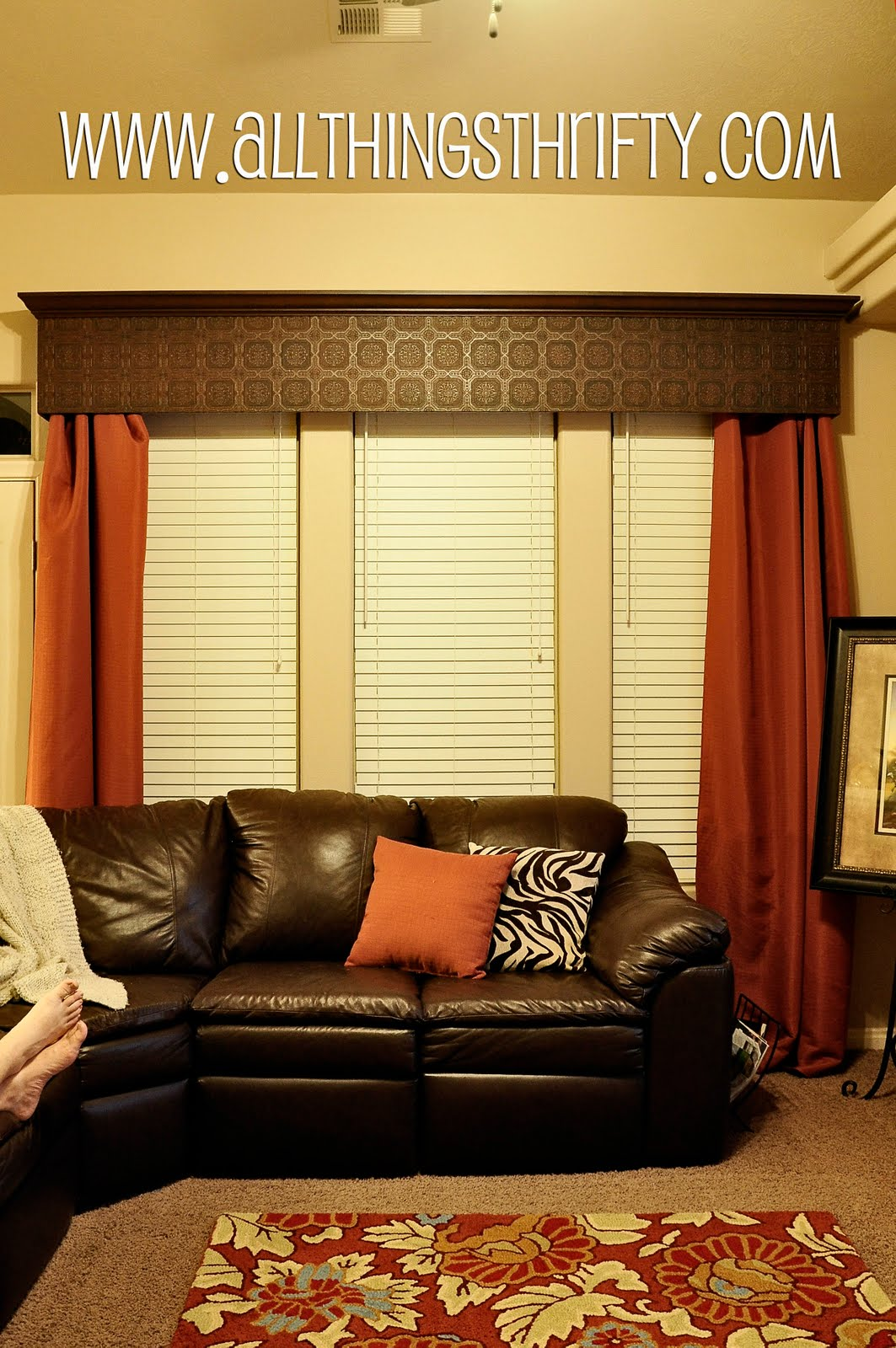 Tutorial How To Hang A Window Valance