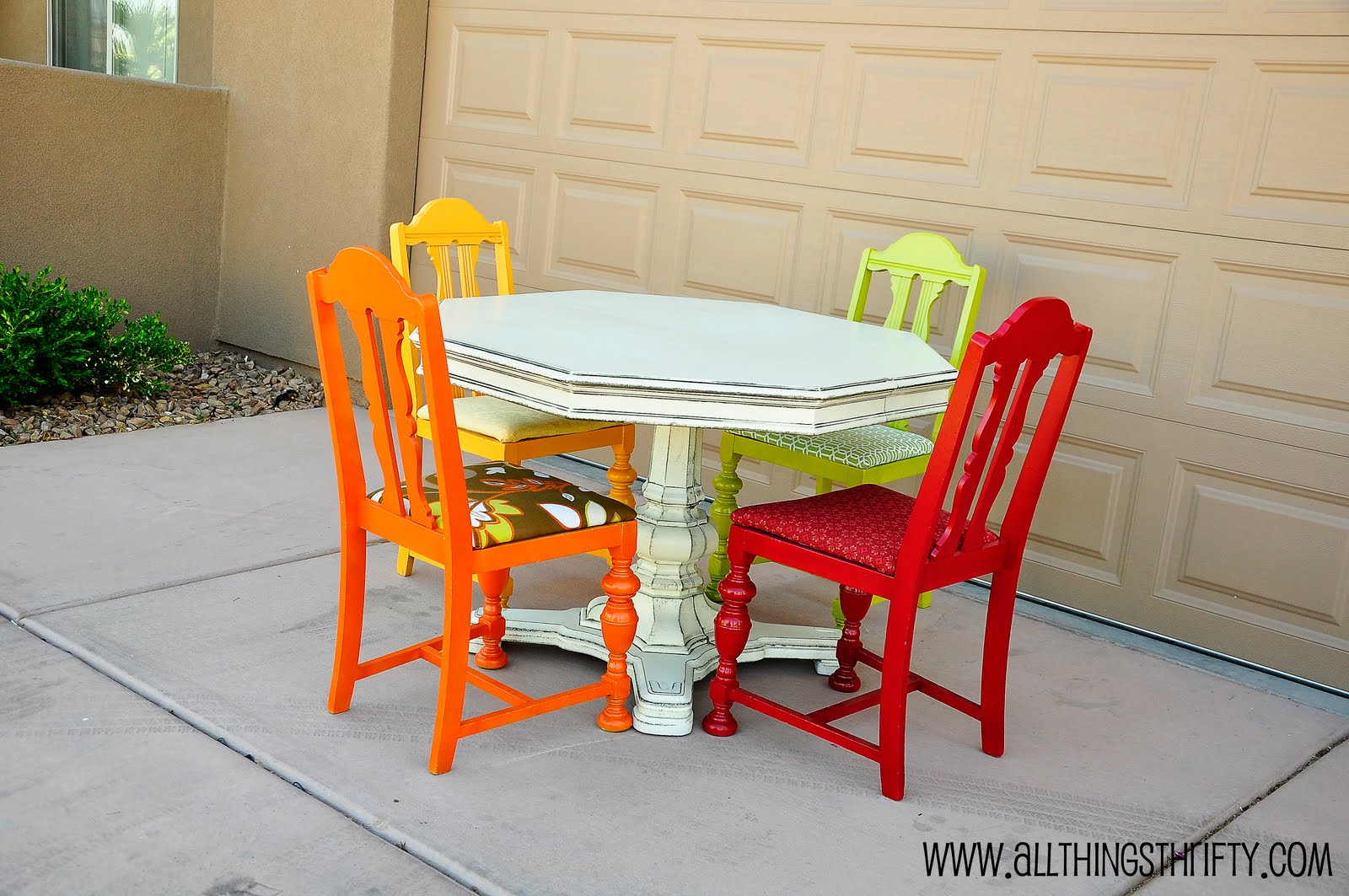 Dining Room Table Transformation All Things Thrifty