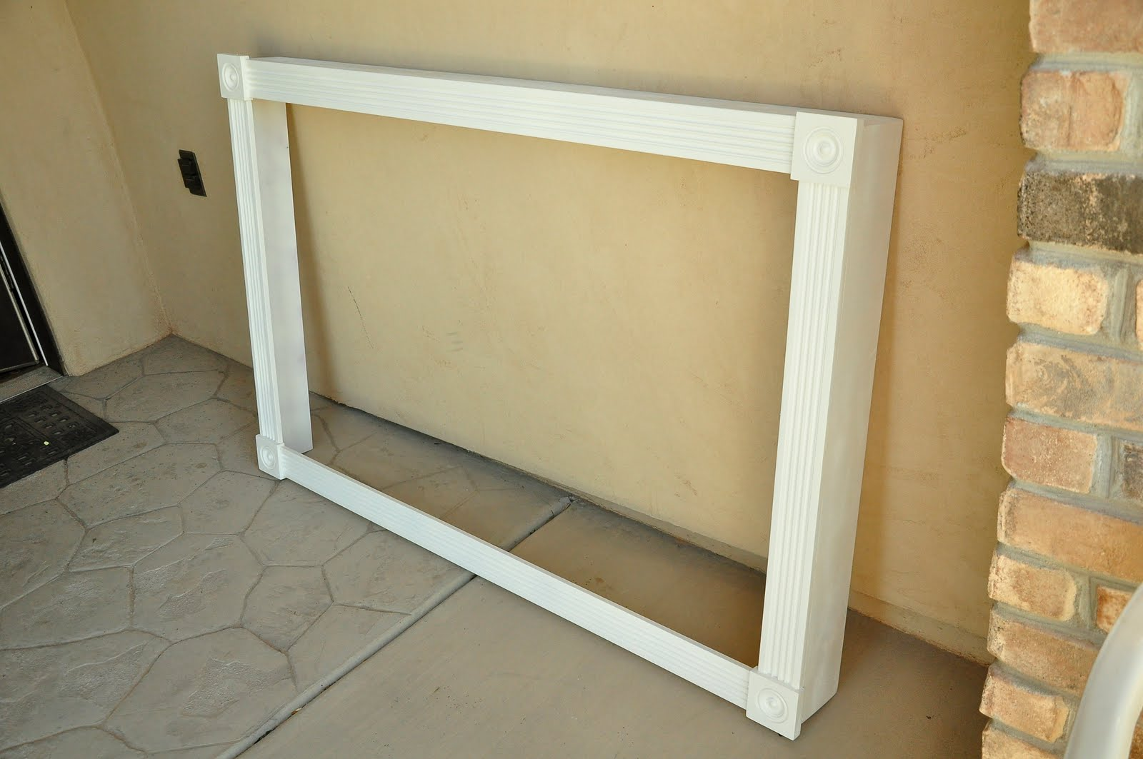 Wall Mounted TV Cover | Super Genius | Pinterest