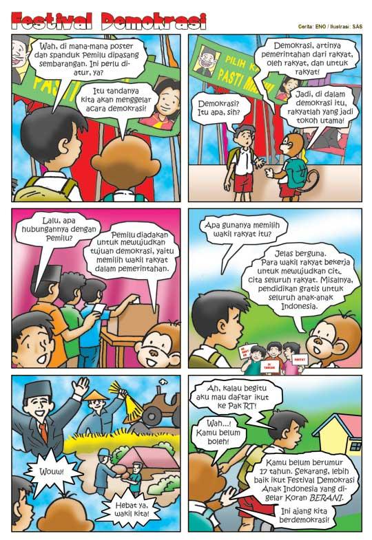Kenali Jenis Jenis Gambar Karikatur Kartun Komik Dan Animasi Besmilelah