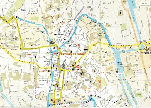 Mi Erasmus En Belgica Mapas Gante
