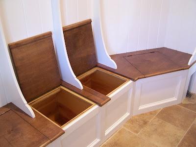 Integrity Custom Carpentry Mud Room Bench Seat