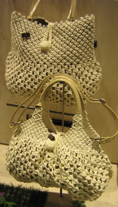 Italian Needlework Macram 233 Summer Bags