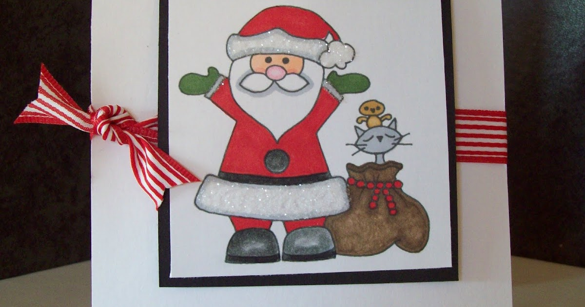 Emmie-Lou Who...Stamps & You!: Santa's Sack And A Pixie