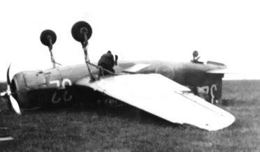 B17-plan på flygfältet i Trollhättan