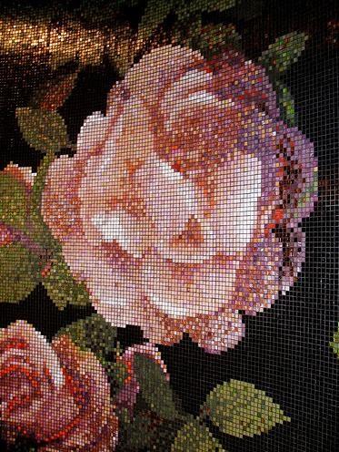 Vintage Modern Home Bisazza Mosaic Tiles