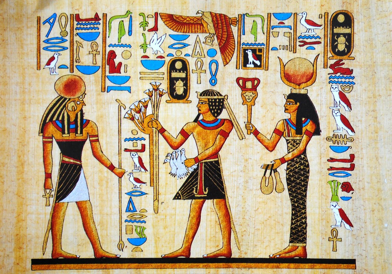 hieroglify egipt