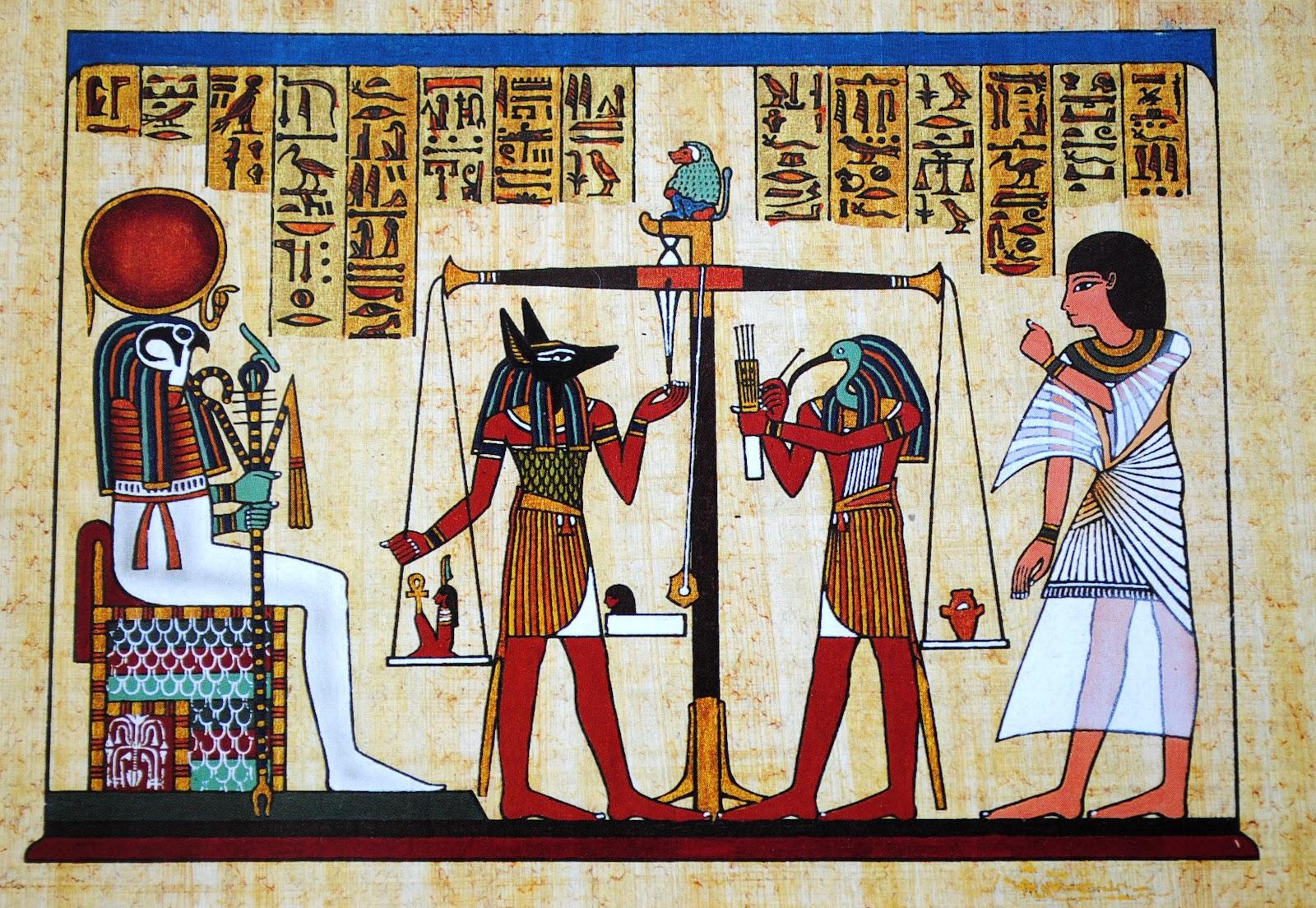 pismo w starożytnym egipcie