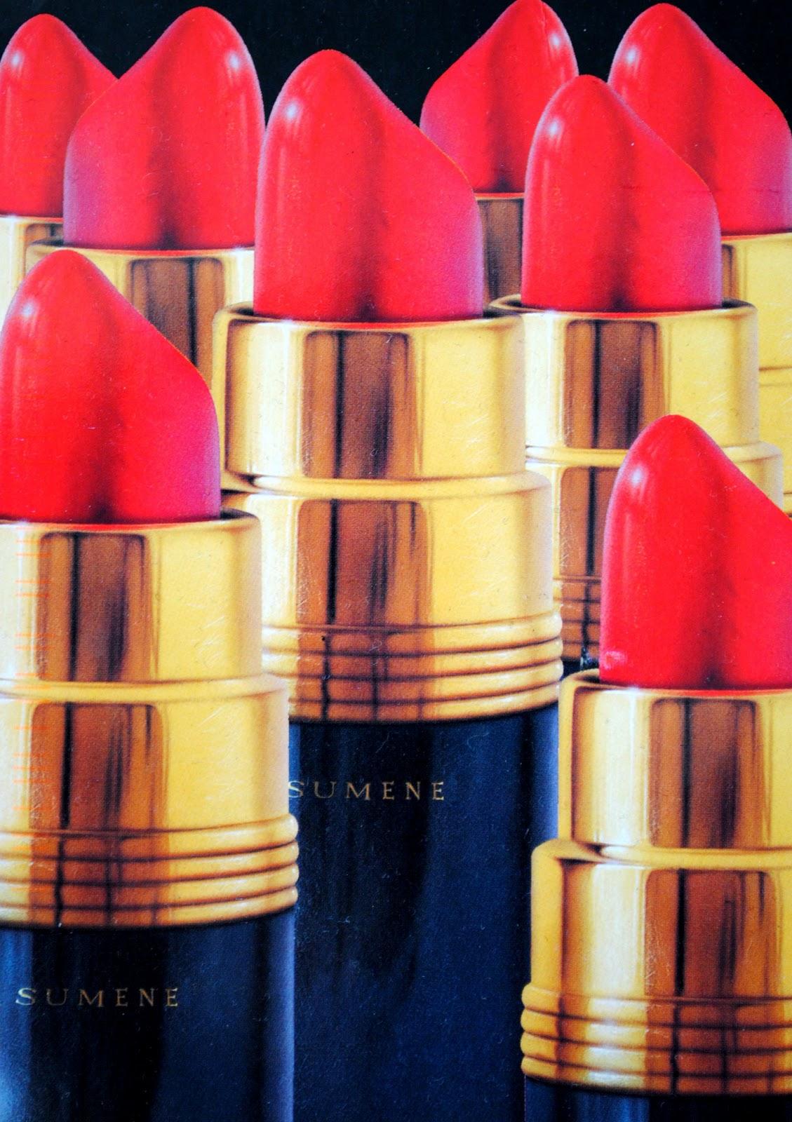 czerwone szminki