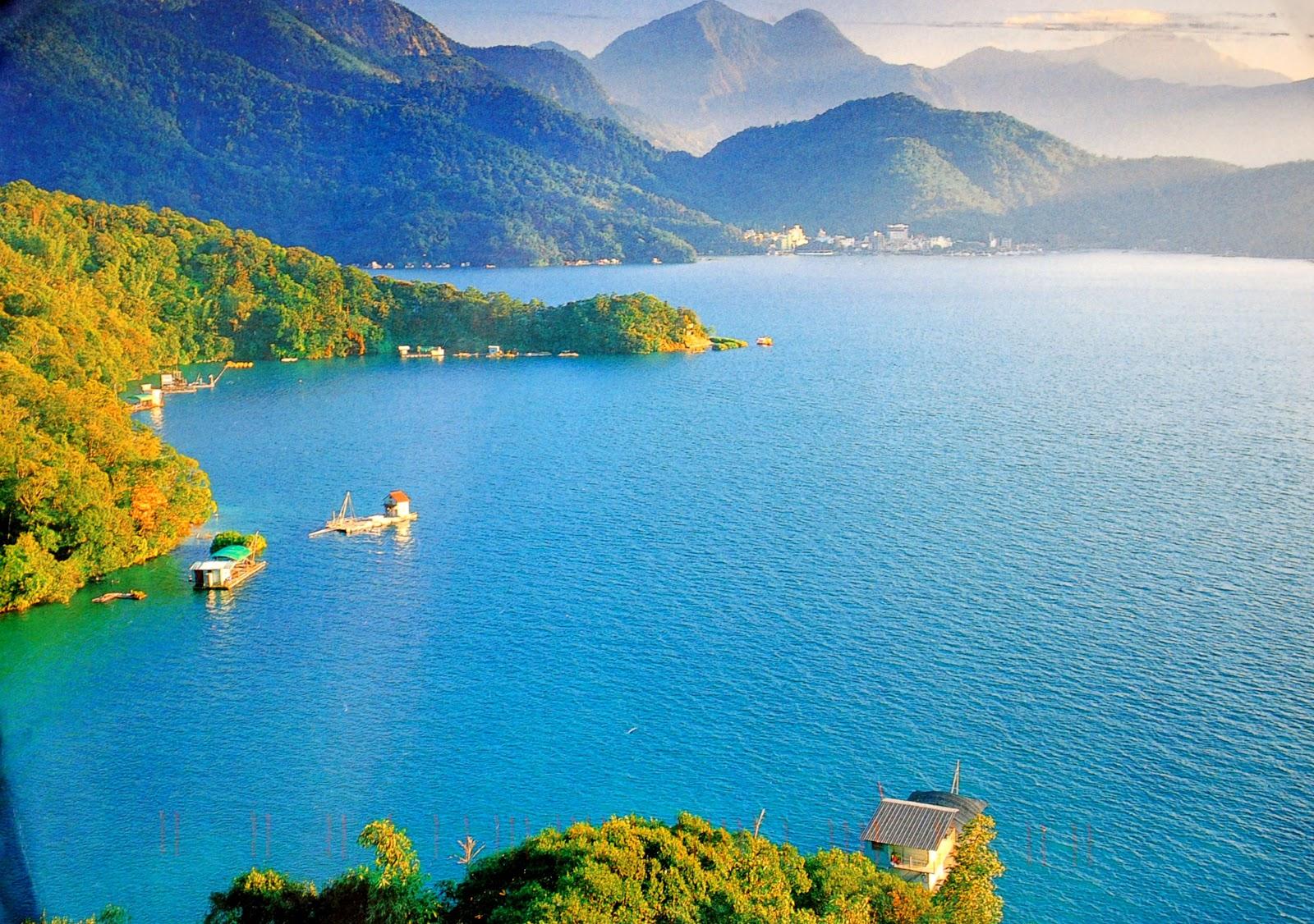 Jezioro słońca i księzyca w Tajwanie