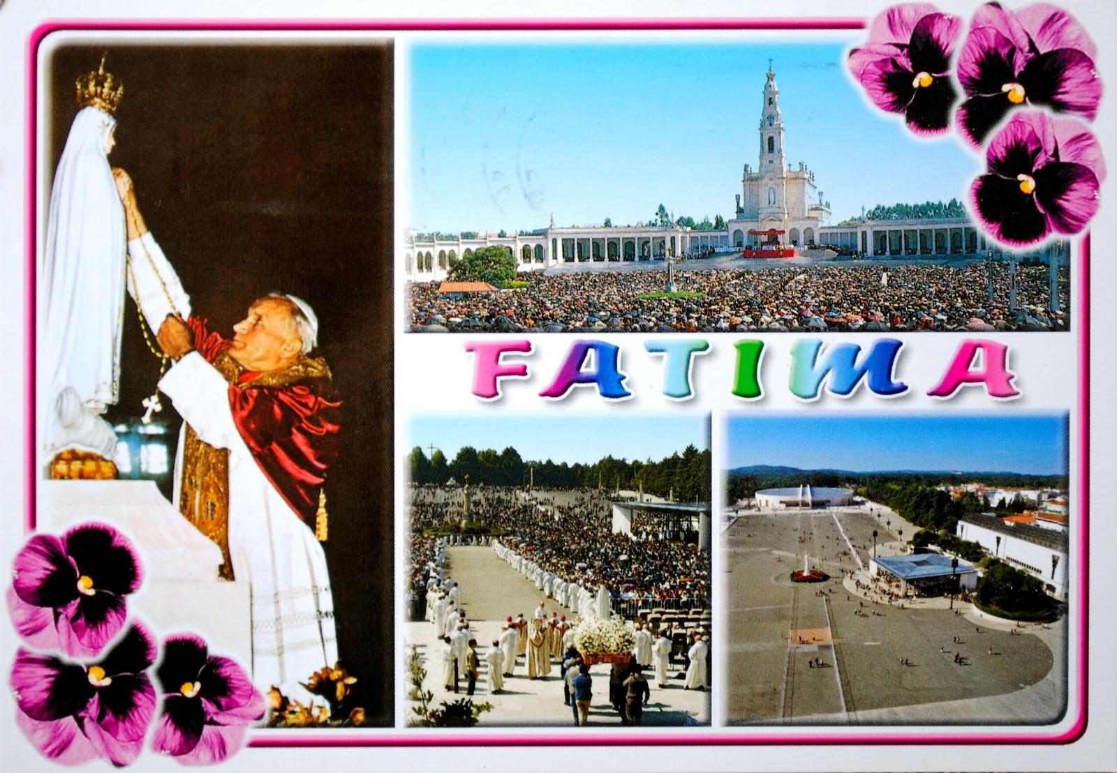 miejsce święte fatima