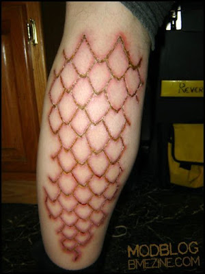 Vaginal corset piercing