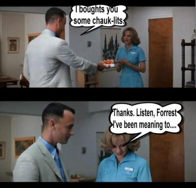 Forrest Gump Funny Quotes: My Funny: Sad Ending Of Forrest Gump Movie