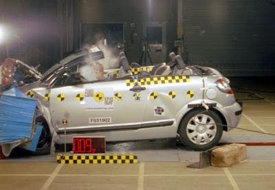 Galeria de Crash Test de diversos carros