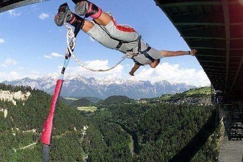 Lugares perfeitos Bungee Jump