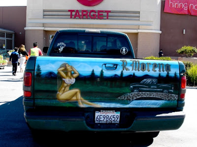 Mexican Airbrushed Tailgate Murals Damn Cool Pictures