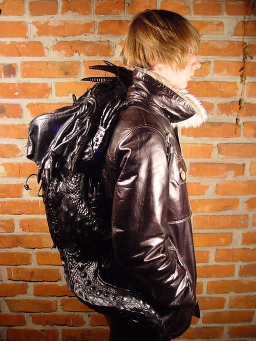 New Dragon Backpack  Damn Cool Pictures
