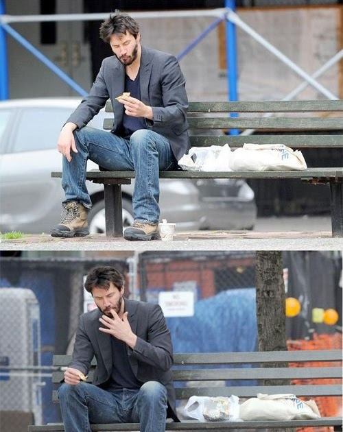DooB Picture: Sad Keanu Reeves Meme
